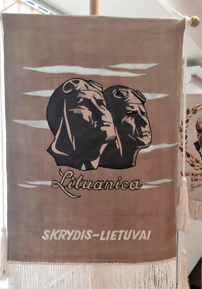 Steponas Darius ir Stasys Girenas. Skrydis Lietuvai.<br>G.Pilaičio nuotr.
