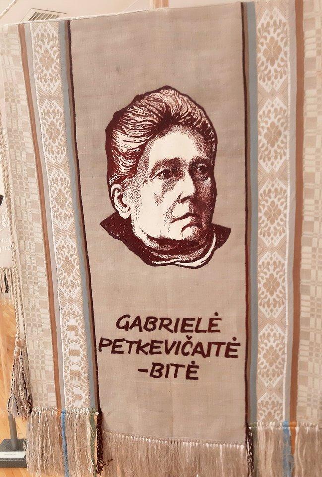 """""""Lietuvos didieji"""". Rašytoja Gabrielė Petkevičaitė Bitė.<br>G.Pilaičio nuotr."""