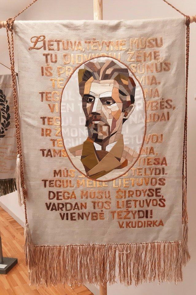 """Lietuvos didieji"". Tautos šauklys Vincas Kudirka.<br>G.Pilaičio nuotr."