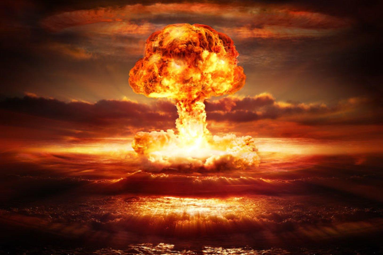 1945 m. Naujosios Meksikos valstijos Alamogordo poligone išbandyta pirmoji atominė (plutonio) bomba.<br>123rf nuotr.