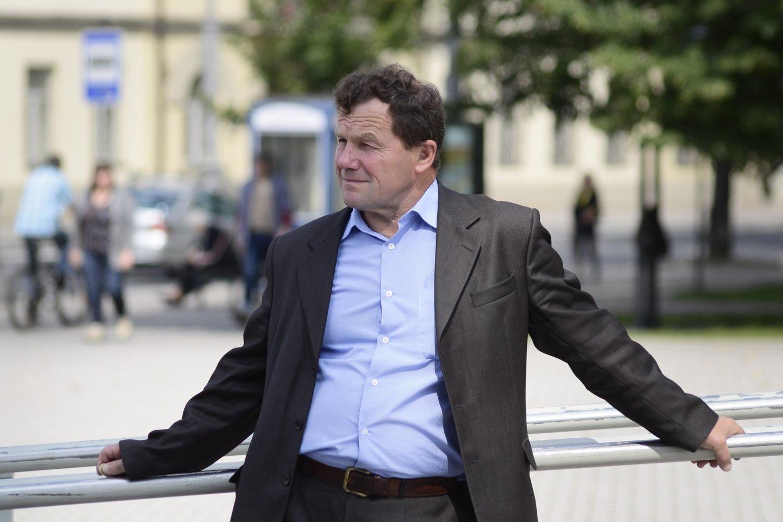 2016 m. mirė Kovo 11-osios Akto signataras Kazimieras Uoka (65 m.).<br>J.Stacevičiaus nuotr.