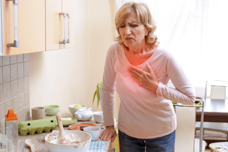 Pagrindinė mirties priežastis – miokardo infarktas.<br>123rf nuotr.