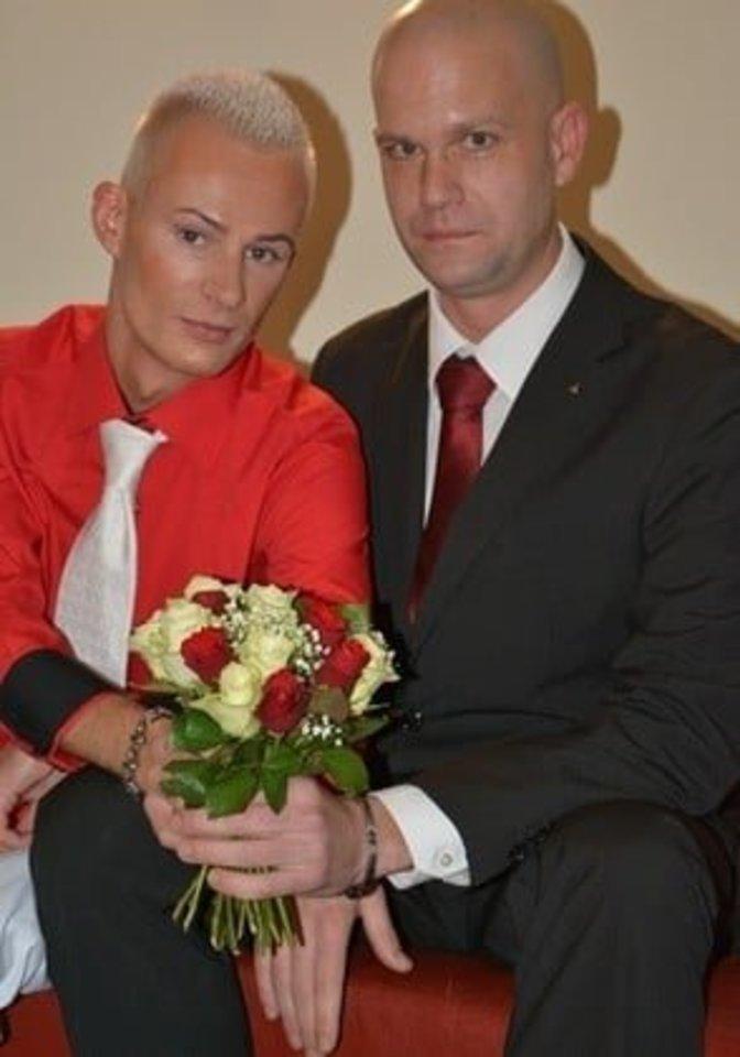 Pradžioje Mindaugas su Wolfgangu dar mėgino savo santuoką gelbėti, bet jiems nepavyko.<br>Asmeninio archyvo nuotr.
