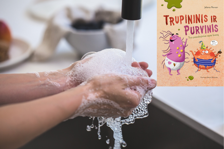 Kai kuriuos vaikus reikia įkalbinėti praustis rankas ar valytis dantukus.<br>lrytas.lt koliažas