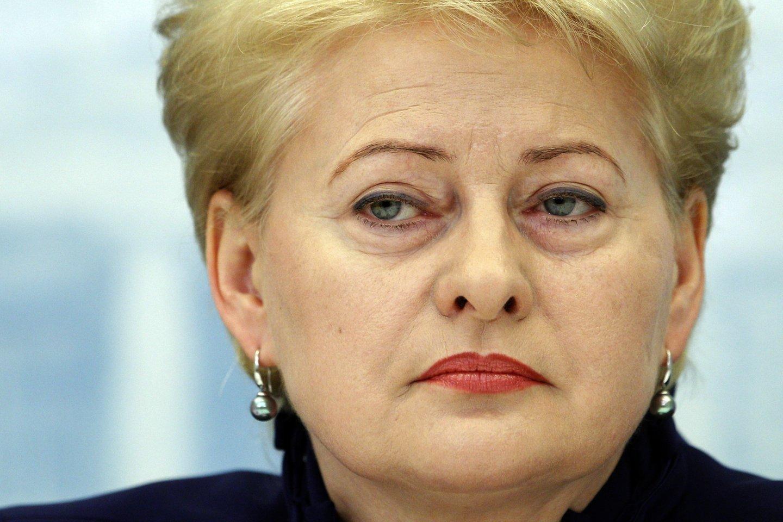 Dalia Grybauskaitė.<br>M.Kulbio nuotr.