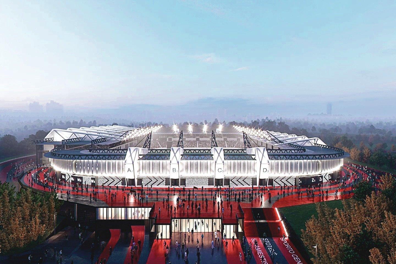 Vietoj dešimtmečius Šeškinės mikrorajone stovinčių griuvėsių planuotas šiuolaikinis stadionas vargu ar iškils, nors Vilniaus miesto savivaldybė teisme dar bando užginčyti VPT paskelbtą ultimatumą.