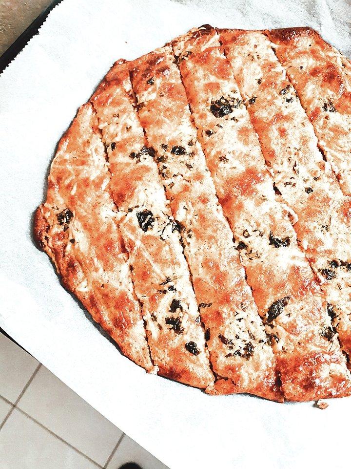 Česnakinė duona<br>Nuotr. iš asmeninio albumo