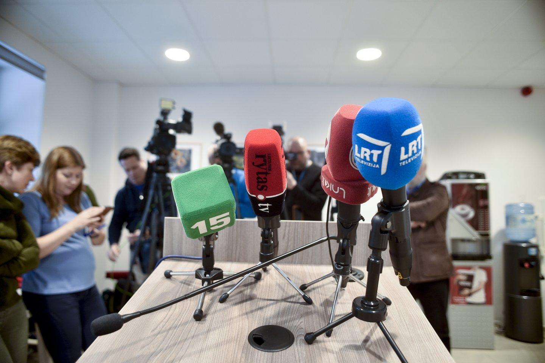 Pirmosios instancijos teismas žurnalistų skundą atmetė, jie pateikė skundą apeliacine tvarka.<br>V.Ščiavinsko nuotr.
