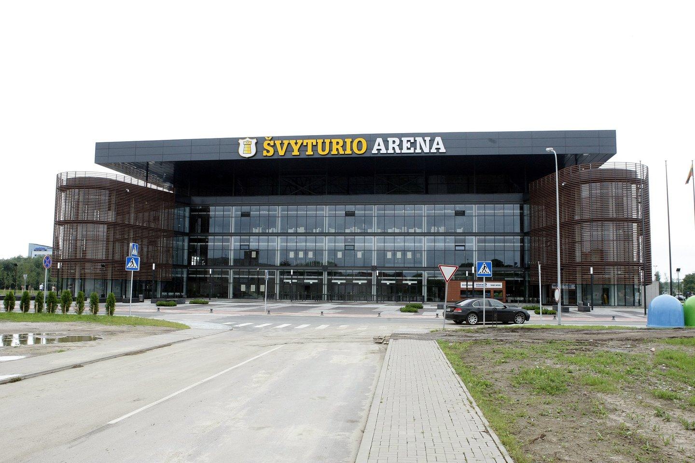 """Klaipėdos """"Švyturio"""" arena.<br>R.Danisevičiaus nuotr."""