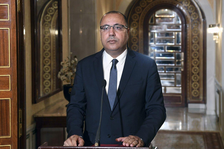 Naujuoju Tuniso ministru pirmininku paskirtas vidaus reikalų ministras. <br>AFP/Scanpix nuotr.