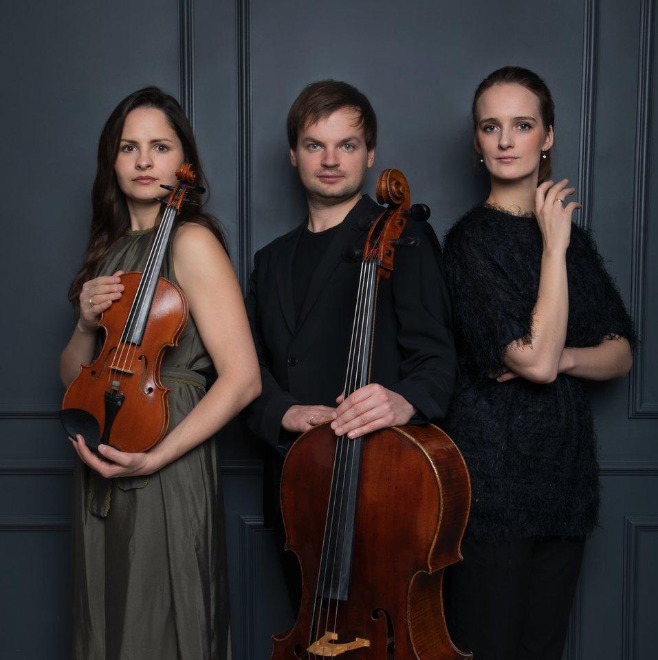 (Iš kairės)Dalia Dėdinskaitės, Glebo Pyšniakoir S.Zajančauskaitės fortepijoninis trio.<br>U.Žilinskės nuotr.