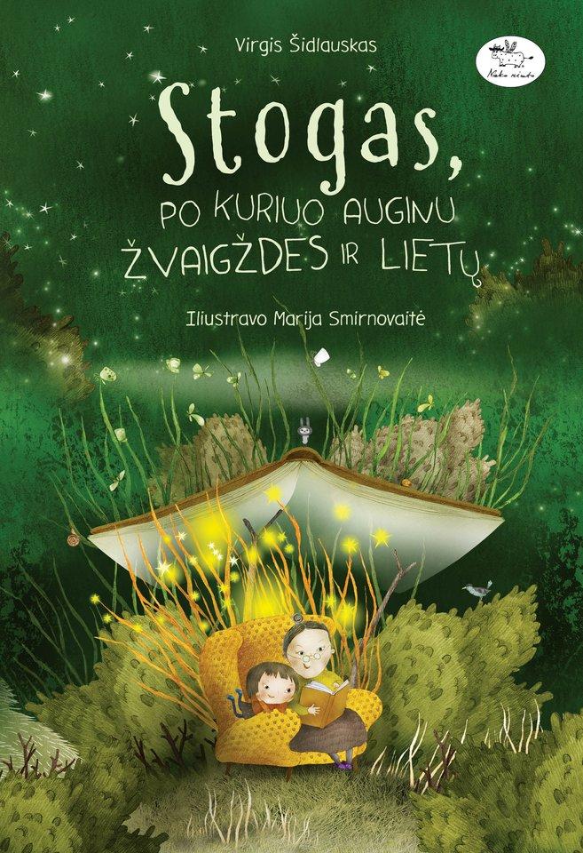 """Virgio Šidlausko knygą""""Stogas, po kuriuo auginu žvaigždes ir lietų"""" iliustravo dailininkė Marija Smirnovaitė.<br> """"Nieko rimto"""" nuotr."""