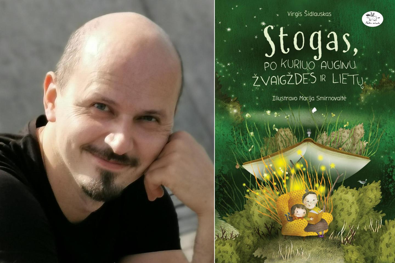"""Knygoje vaikams """"Stogas, po kuriuo auginu žvaigždes ir lietų"""" subtili istorija atskleidžia tvirtus močiutės ir anūkės santykius bei lengvai, šviesiai ir jautriai paliečia ligos, nerimo, ilgesio, vilties temas.<br>lrytas.lt koliažas"""