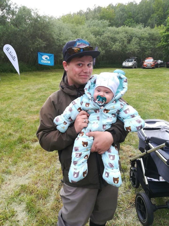 Giedrė su sūnumi Aronu.<br> Asmeninio archyvo nuotr.