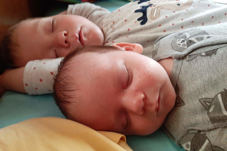 Tarp brolių Arono ir Viliaus nėra nė dviejų metų skirtumo.<br> Asmeninio archyvo nuotr.