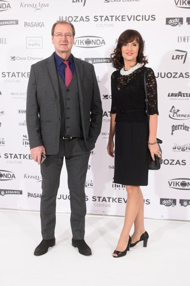 Viktoras Uspaskichas ir Jolanta Blažytė.<br>V.Skaraičio nuotr.