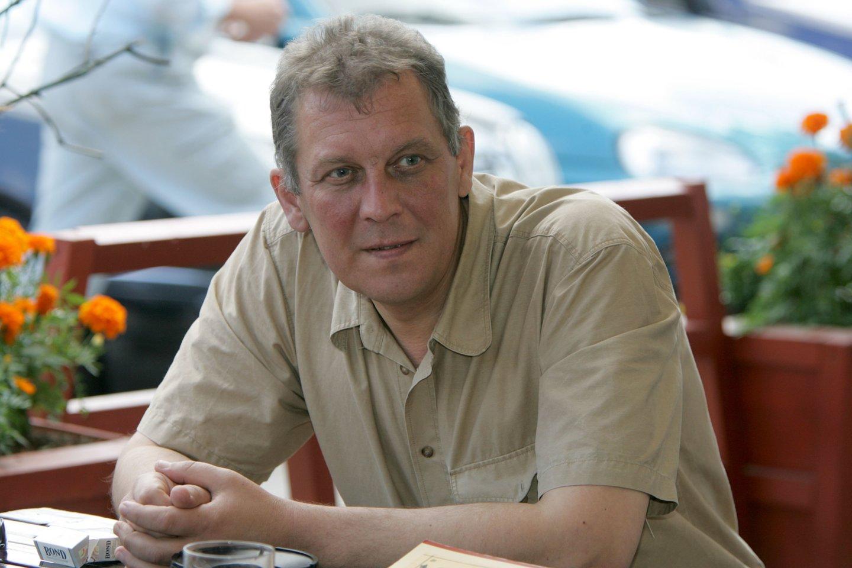 2006 m. mirė religijotyrininkas ir etnologas, rašytojas Gintaras Beresnevičius (45 m.).<br>R.Jurgaičio nuotr.