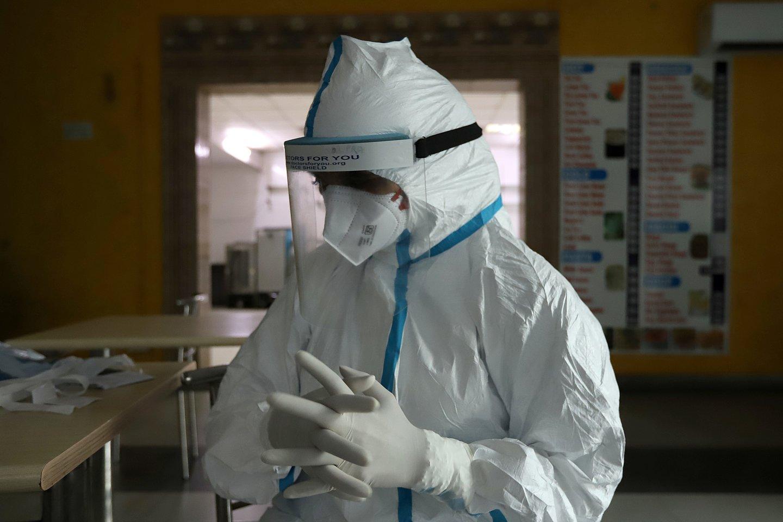 Koronavirusas pasaulyje.<br>ZUMA Press/Scanpix nuotr.