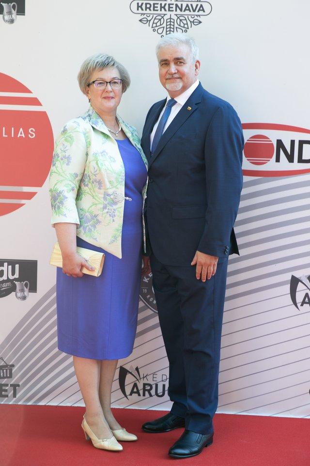 Aušrelė ir Darius Kaminskai.<br>T.Bauro ir V.Skaraičio nuotr.