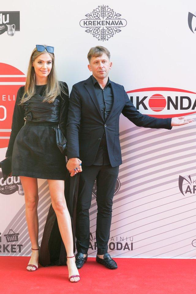 Kotryna Kozlovaitė ir Egidijus Dragūnas-SEL.<br>T.Bauro ir V.Skaraičio nuotr.
