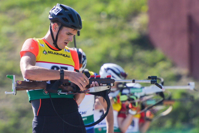 V.Strolia triumfavo A.Šalnos biatlono taurės varžybose.<br>A.Ivanovo nuotr.