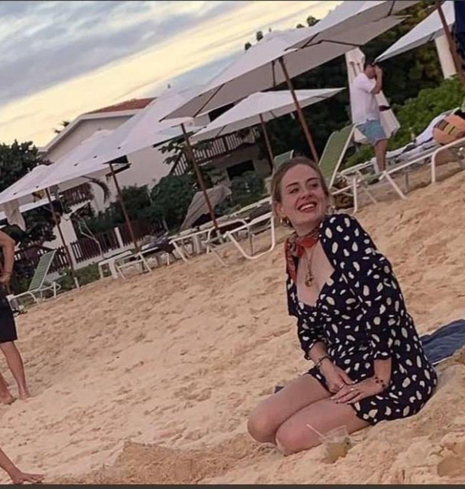 Adele stebina savo kūno pokyčiais.<br>Instagramo nuotr.