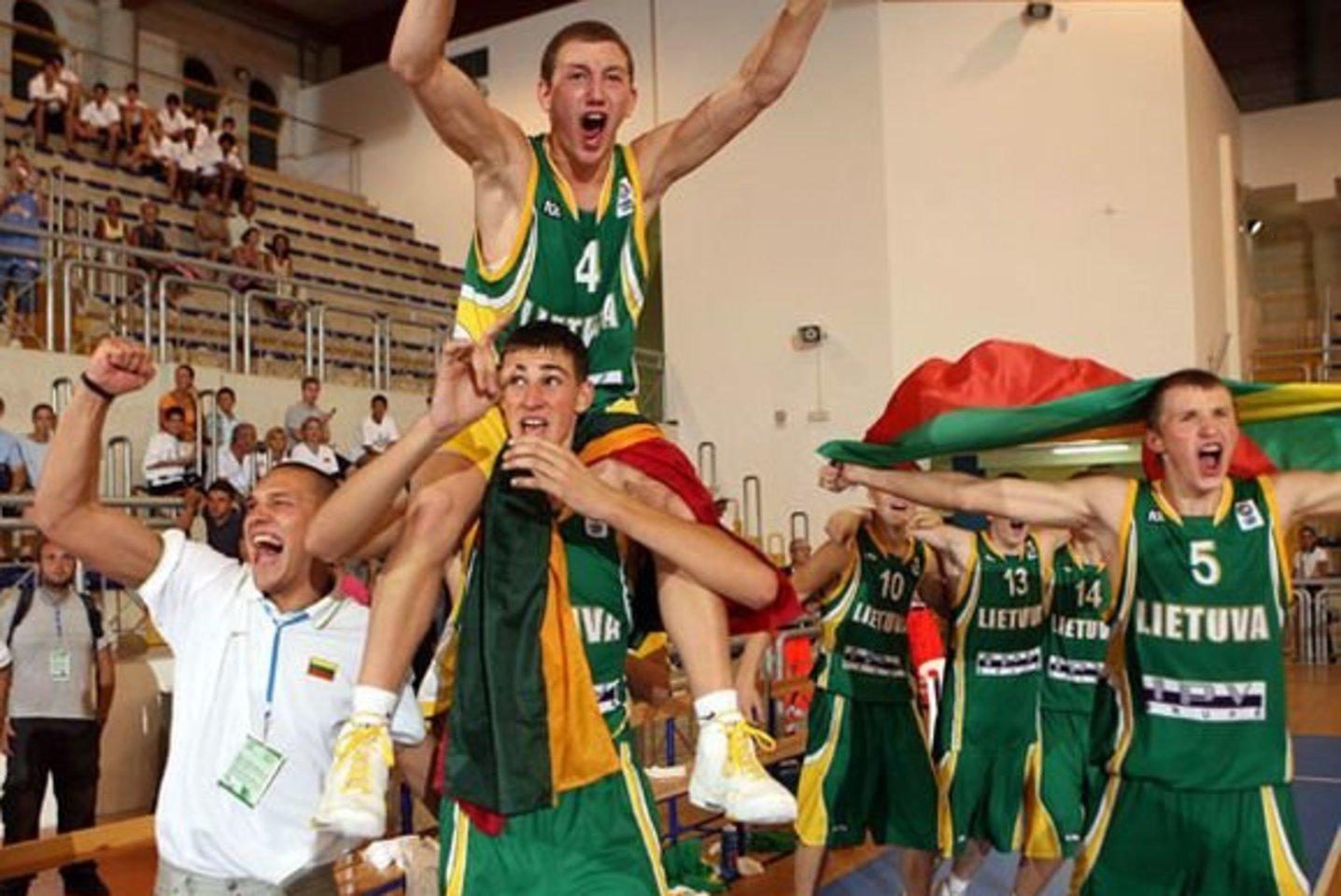 Lukas Žemaitis (nr. 4).<br>FIBA Europe nuotr.