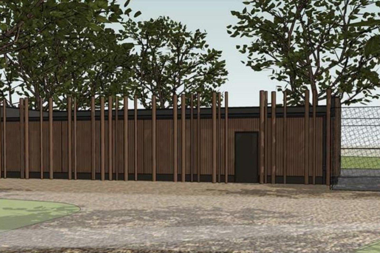 """Kauno savivaldybės tinklapyje paskelbti Zoologijos sodo pastatų Radvilėnų pl. 21 statybos projektiniai pasiūlymai, kuriuos parengė architektų biuras """"Simper"""".<br>Vizual."""