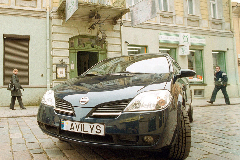 Vardiniai automobilių numeriai.Avilys<br>A.Barzdžiaus nuotr.