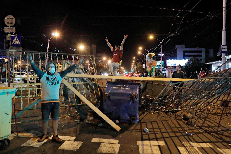Įvykiai Baltarusijoje.<br>Reuters/Scanpix nuotr.