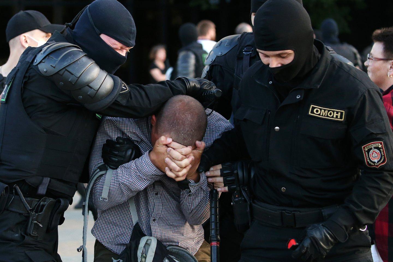 Įvykiai Baltarusijoje.<br>TASS/Scanpix nuotr.