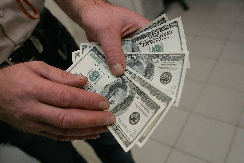 euro dolerio valiutos kursas)