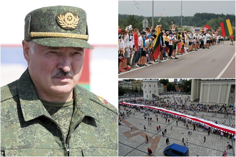 Lietuva Baltarusijai įteikė notą.<br>lrytas.lt koliažas.