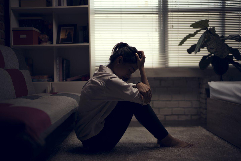 Emocinė sveikata siaučiant virusui tapo prastesnė teigia daugiau kaip 40 proc. Lietuvos gyventojų.<br>123rf.com asociatyvi nuotr.