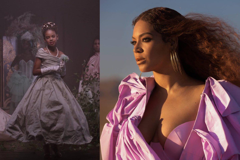 """Beyonce pristatė kvapą gniaužiantį vaizdo klipą """"Brown Skin Girl"""".<br>lrytas.lt montažas."""