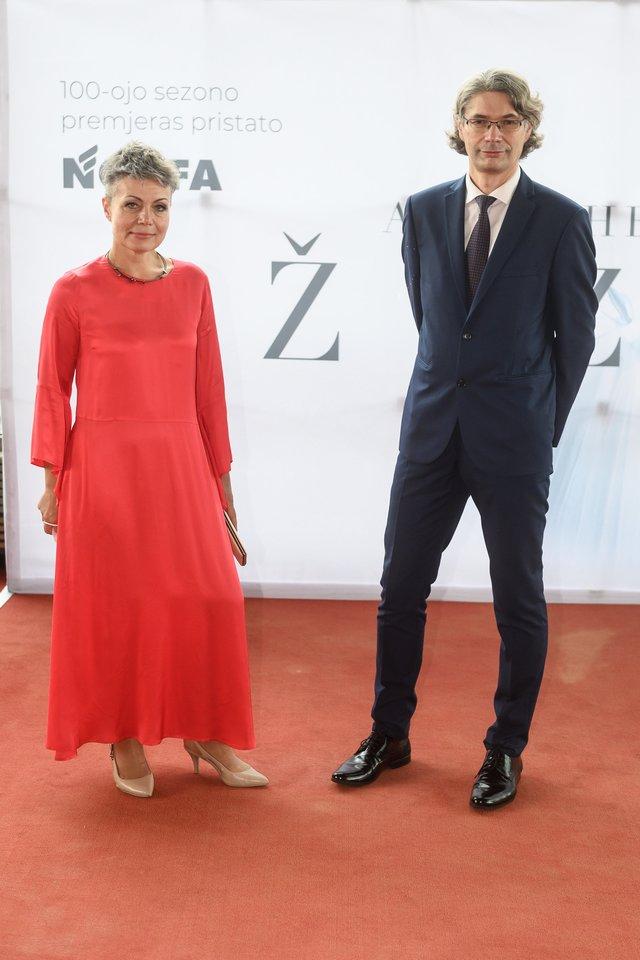 Inga Navickienė ir Audrius Kundrotas.<br>V. Skaraičio nuotr.