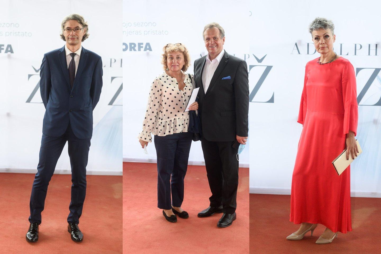 Audrius Kundrotas, Aurelija ir Pranas Šerpyčiai, Inga Navickienė.<br>LR koliažas.