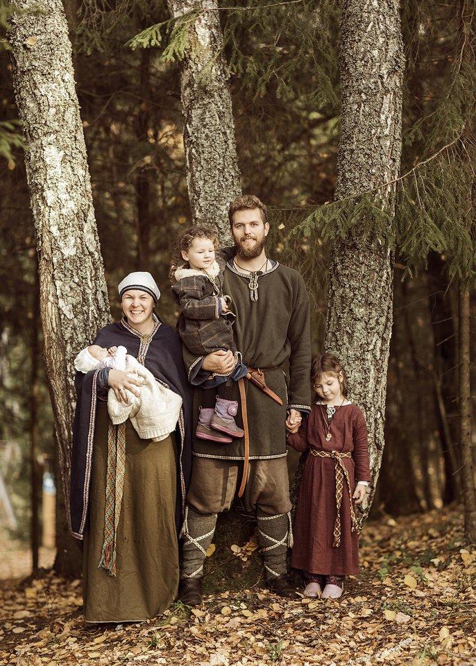 Išbandę gyvenimę Žemaitijoje, Valaičiai grįžo į Vilnių.<br> Asmeninio archyvo nuotr.