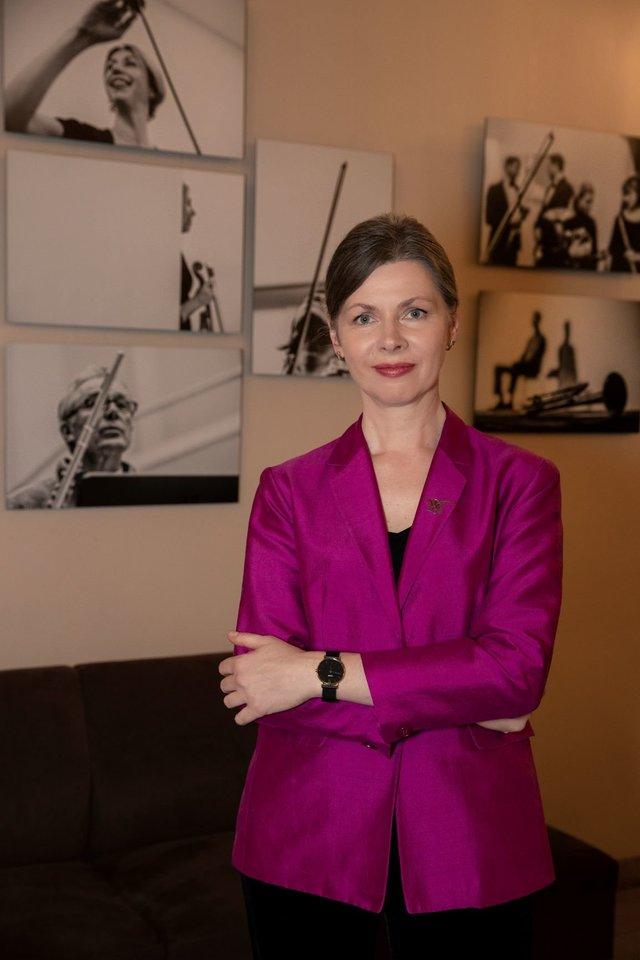 LNF generalinė direktorė R.Prusevičienė.