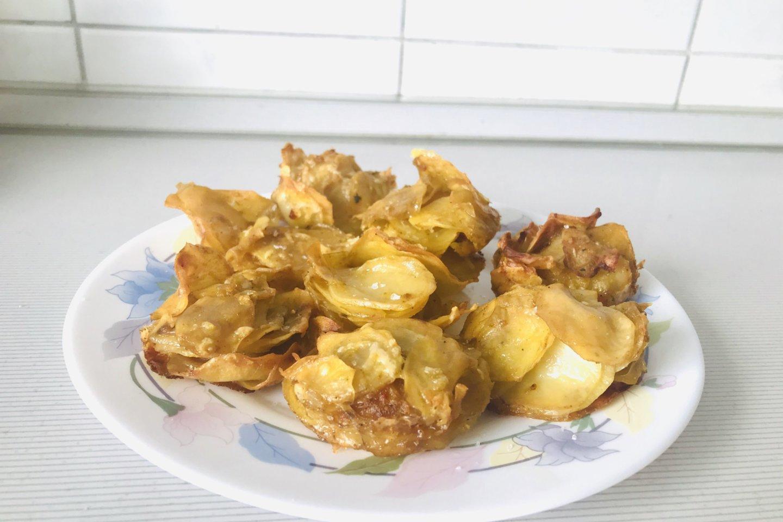 Bulvių bokšteliai.<br>Skaitytojos nuotr.