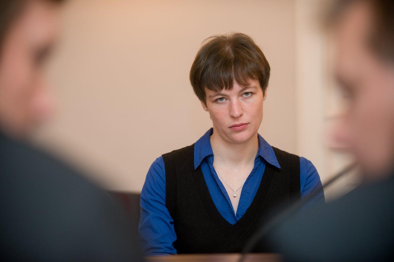 R. Kaziliūnaitė taps trečiąja Specialiųjų tyrimų tarnybos direktoriaus pavaduotoja.<br>J.Stacevičiaus nuotr.
