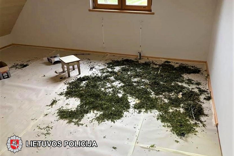 Pradėtas ikiteisminis tyrimas.<br>Lietuvos policijos nuotr.
