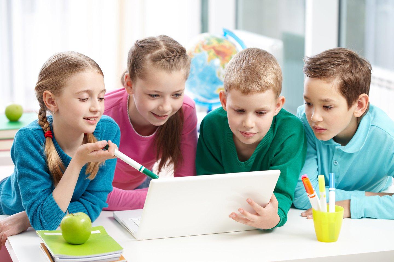 Tėvai turi aptarti kartu su vaikais, kodėl jis nori lankyti vieną ar kitą būrelį, kokie jo lūkesčiai.<br>AMES Kauno filialo nuotr.