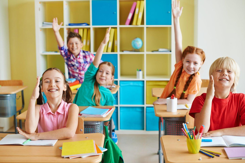 Tampa suprantama, kad lavinti svarbiausius vaikų įgūdžius reikėtų nuo pat pirmos klasės ar net darželio, dėl to jiems svarbu nuosekli vaikų pažanga.<br> AMES Kauno filialo nuotr.