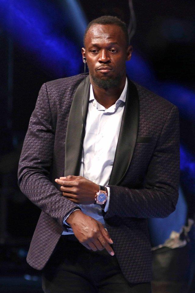 Aštuonis kartus olimpiniu čempionu tapęs Usainas Boltas (34 m.) laikosi karantino.<br>Scanpix nuotr.