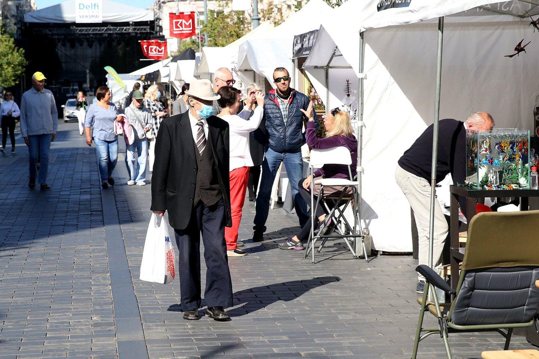 Vilniaus miesto šventė vyks tris dienas – iki rugsėjo 6-osios.<br>R.Danisevičiaus nuotr.