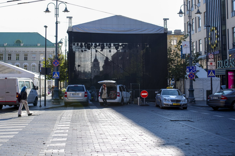 Vilniaus miesto šventė vyks tris dienas – iki rugsėjo 6-osios.<br>V.Ščiavinsko nuotr.
