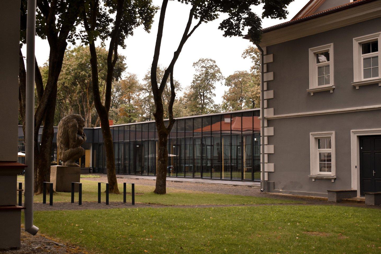 """Rūta Vitkauskaitė muziką sukūrė """"Vilniaus Tech Park"""" kompleksui Antakalnyje.<br>Organizatorių nuotr."""