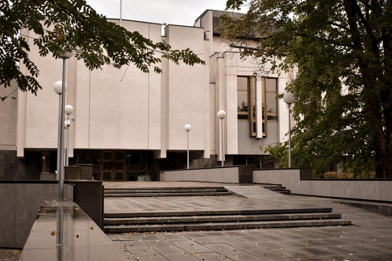 Mato Drukteinio garso instaliaciją išgirsime Vyriausybės rūmų.<br>Organizatorių nuotr.