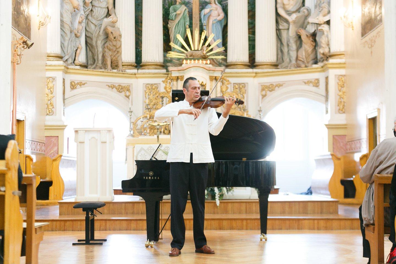 Martynas Švėgžda von Bekkeris.<br>T. Bauro nuotr.